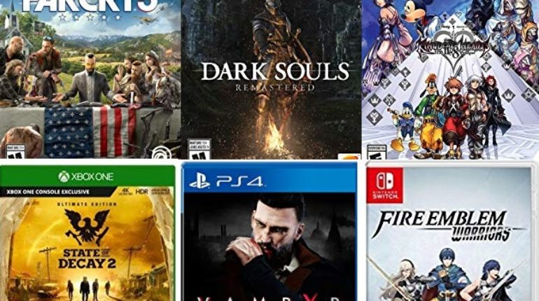 Amazon August AAA Game Sale For PS4, Xbox One & Switch
