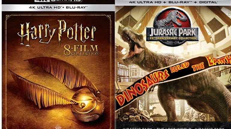 Save Up To 47 Off Harry Potter Collection Jurassic Park 25th Anniversary Collection 4k Hd Sets Daily Video Game