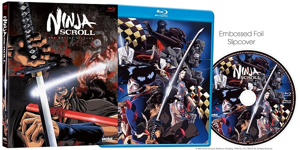 Ninja Scroll Blu Ray Set Is On Sale Under 9 Daily Video Game