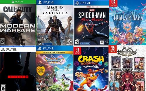 Amazon's Game Sale